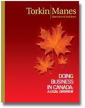 Torkin Manes - Doing Business in Canada Icon